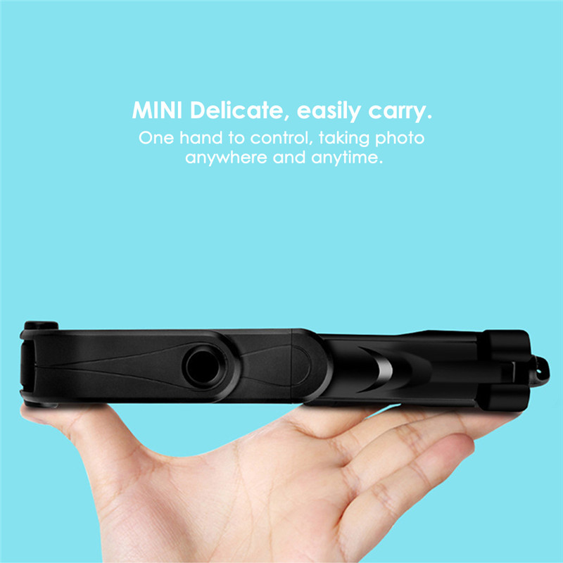 XT10 Portable Extended Rotation bluetooth Remote Selfie Stick Tripod Mobile Phone Holder for Live Sports