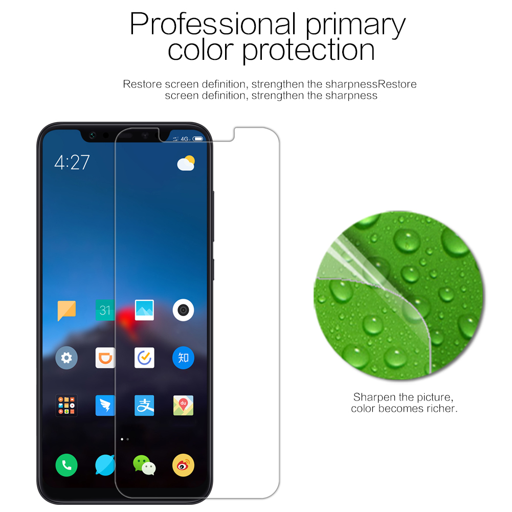 Bakeey High Definition Anti-Scratch Soft Screen Protector for Xiaomi Mi8 Mi 8 / Xiaomi Mi 8 Pro