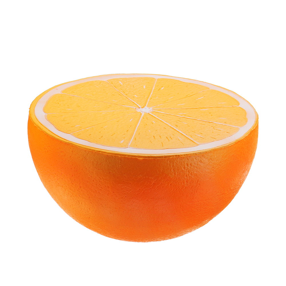 3PCS Giant Strawberry Orange Peach Squishy Huge Fruit 25*23CM Slow Rising With Packaging