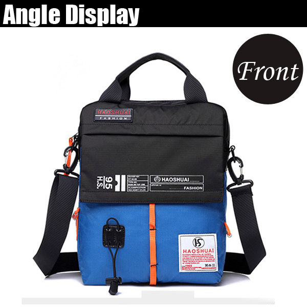 Men Nylon Waterproof Casual Crossbody Bag Light Weight Shoulder Bag