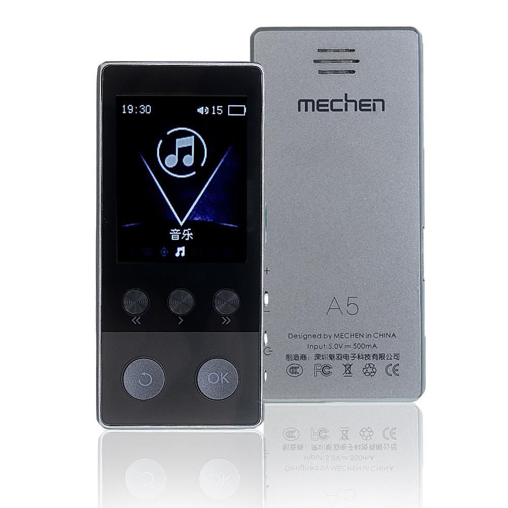 Mechen A5 bluetooth 4G/8G/16G Touch Screen Alarm Clock FM MP3 HIFI Music Player
