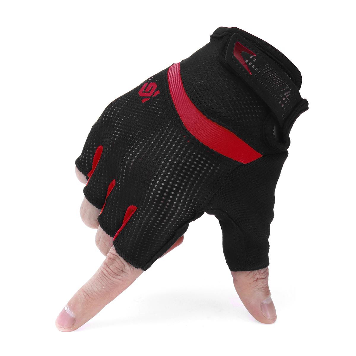 Antiskid Cycling Motorcycle Gloves MTB Bike Half Finger Gloves Short Finger Sports Glove