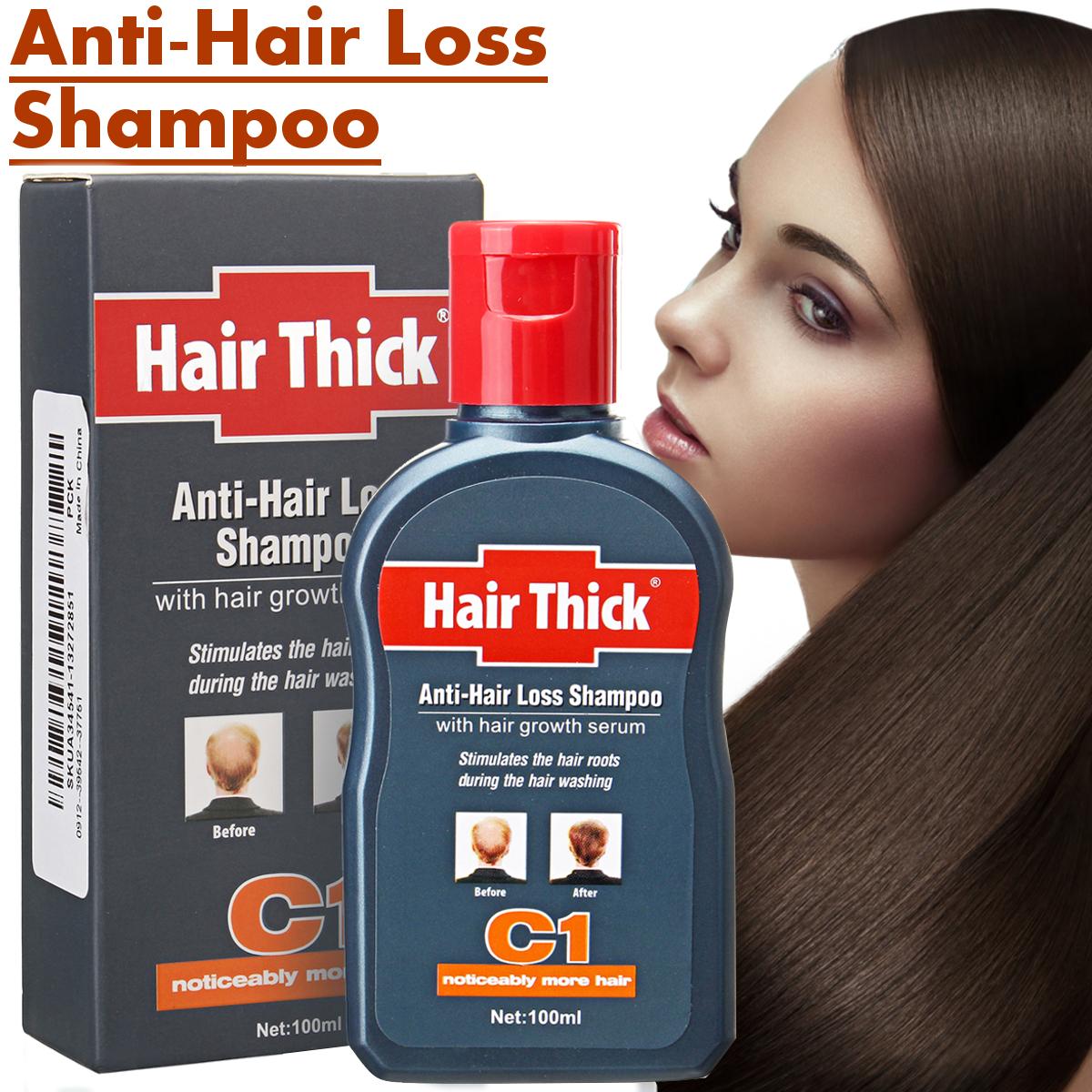 100ml Anti-Hair Loss Hair Growth Shampoo Treatment