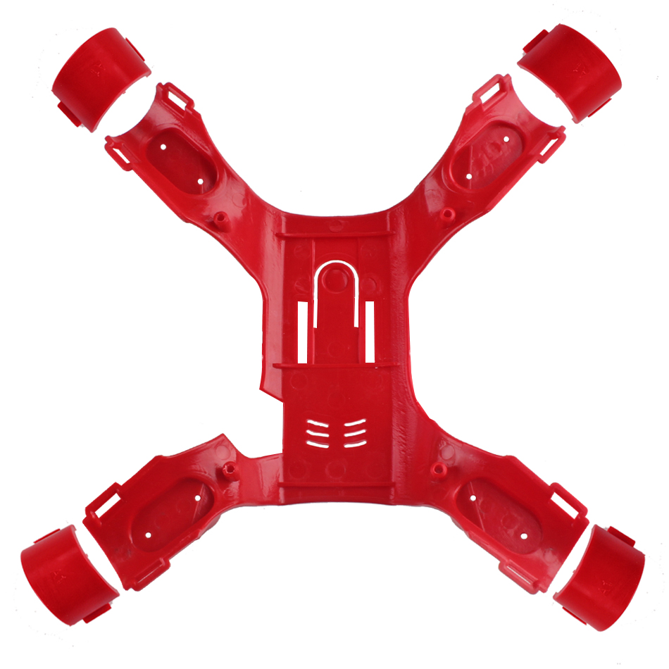 Landing Gear Skid Gimbal Camera Mount Propeller Blade Body Cover Shell for MJX B2SE B2W RC Drone - Photo: 5