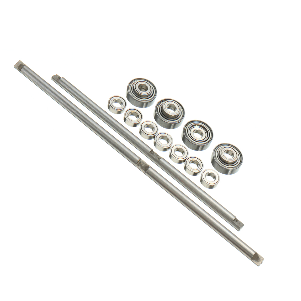 WPL Metal Gear Bridge Axle Set And OP Accessory For B-1 B-24 B-16 C-24 1/16 4WD 6WD RC Car Parts