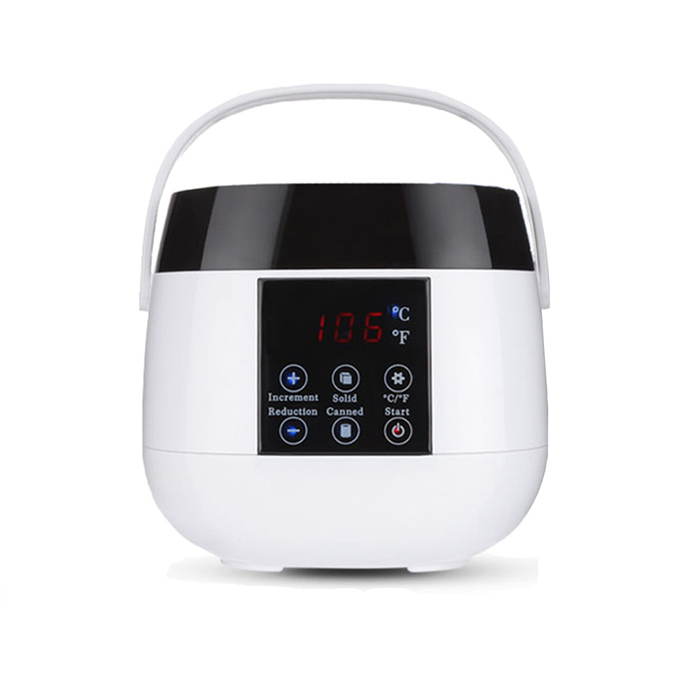 500ml LED Display Adjustable Temperature Wax Heater