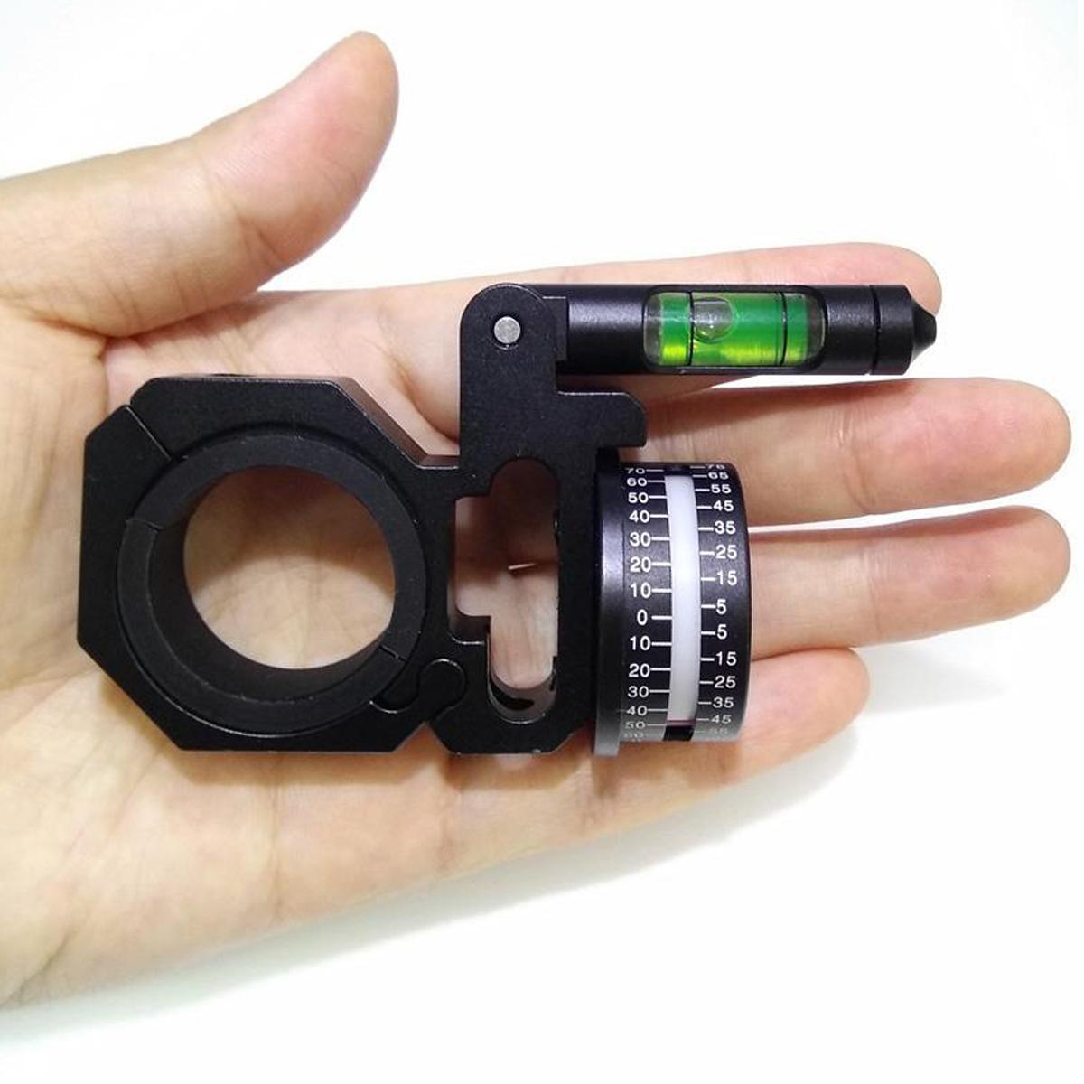 Right-hand 25.4/30mm Ring Angle Degree Indicator (ADI/ACI) Scope Mount Level
