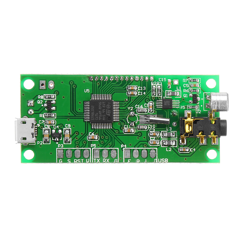 DSP PLL 87-108MHz Digital Wireless Microphone Stereo FM Transmitter Module Board