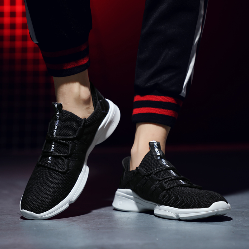 Lightweight Breathable Mesh Casual Running Sneakers