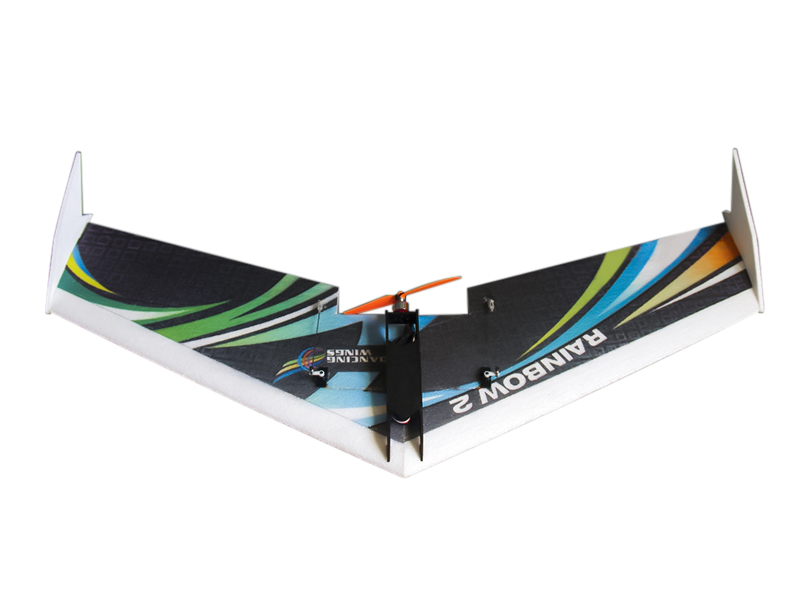 Dancing Wings Hobby DW Upgraded Rainbow Ⅱ 1000mm Wingspan EPP Flying Wing RC Airplane KIT