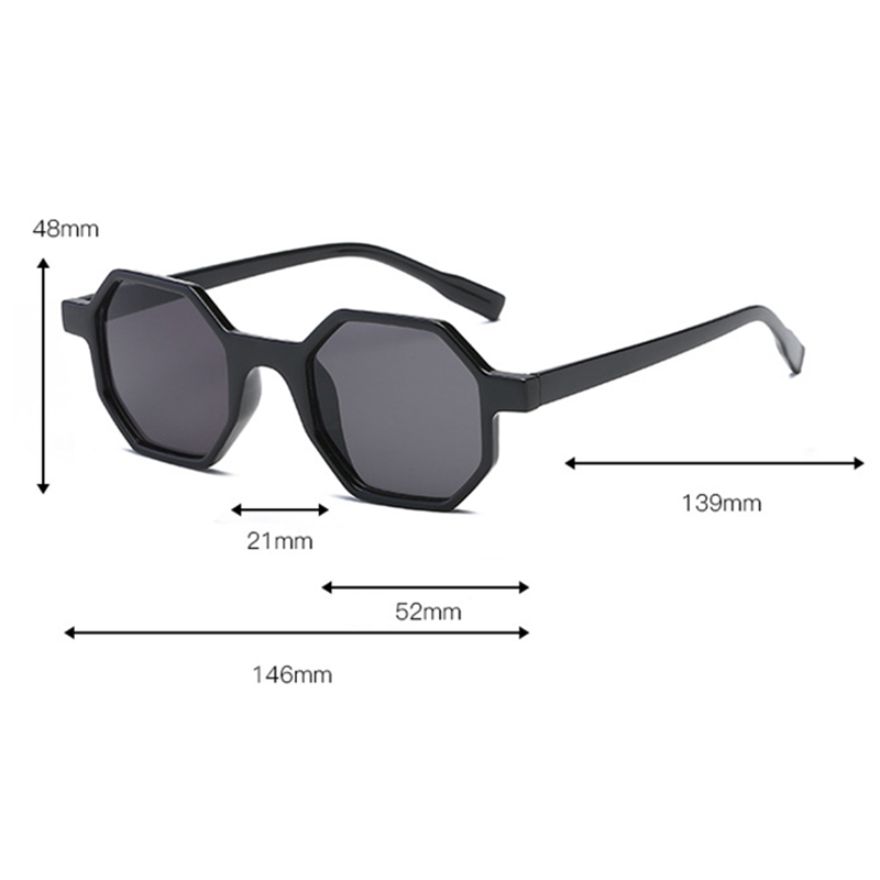 Women Retro UV400 Round Frame Sunglasses