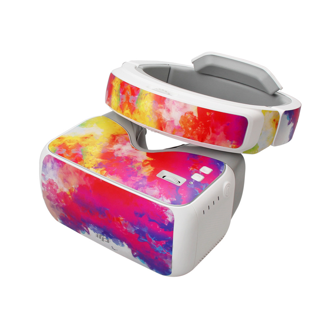 Cool Colorful Waterproof Stickers Decals Skin Cover Kit for DJI Goggles RC VR Glasses