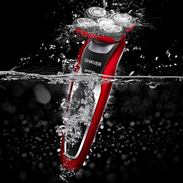 LILI LI-9717 IPX7 Waterproof 5 Head Razor Rotary Electric 4D Floating Shaver