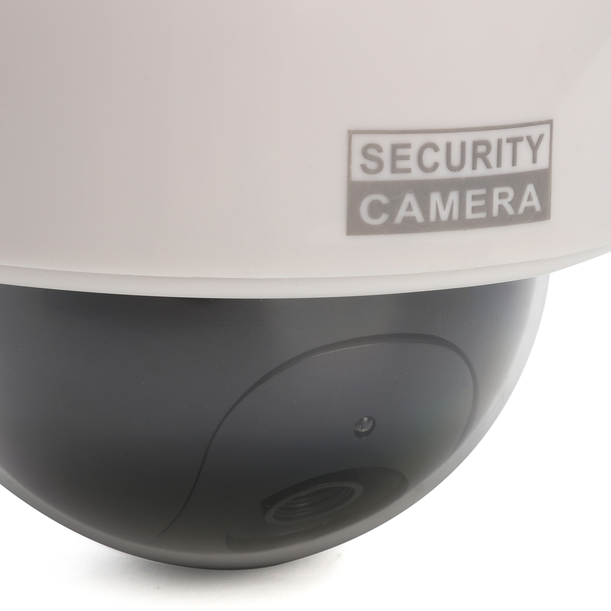 Dummy Solar Power Dome Security Camera Waterproof with Flashing LED Light
