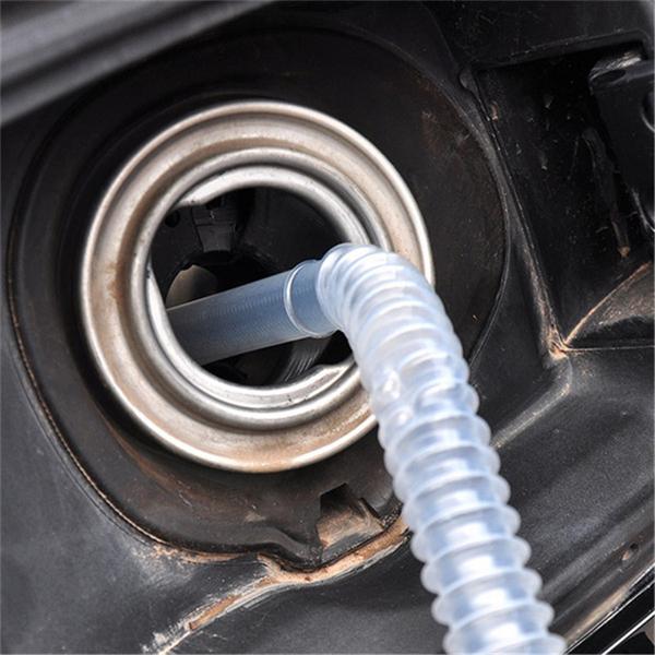 Portable Manual Car Siphon Hose Pump Gas Oil Water Liquid Transfer Hand Pump Sucker