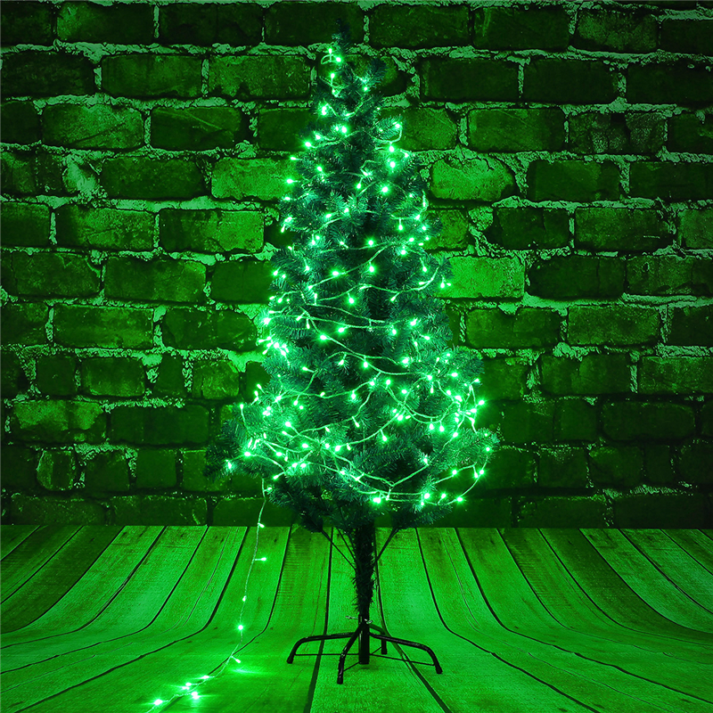 10M 100LED Fairy String Light Outdoor Christmas Wedding Party Lamp Waterproof 220V EU Plug