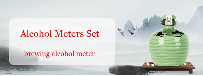 3PCS/SET Alcohol Meter Measuring Instrument Vinometer Thermometer Multifunction Bar Tool