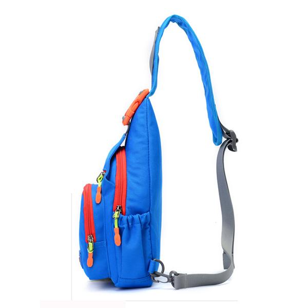 Women Men Nylon Waterproof Outdoor Sport Hiking Crossbody Bag Chest Bag