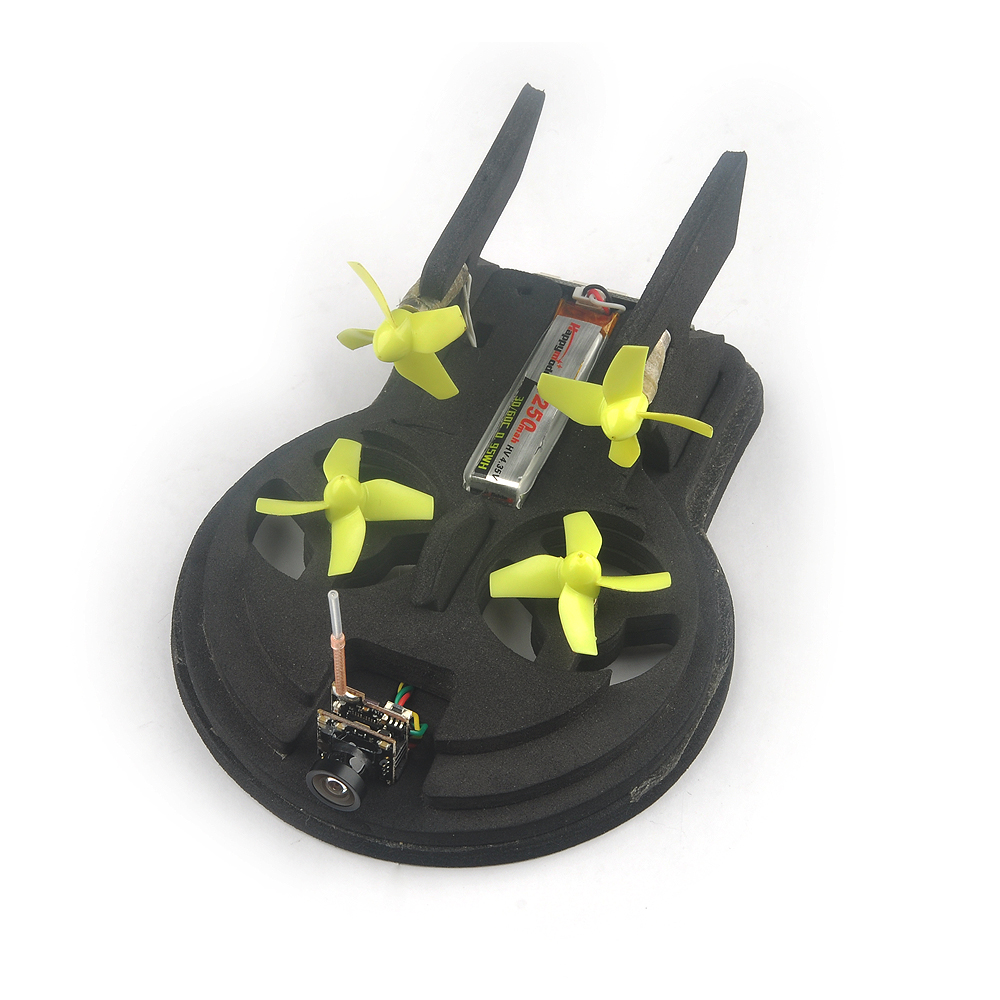 Tiny whoover EW65 FPV Hovercraft RC Quadcopter Built-in