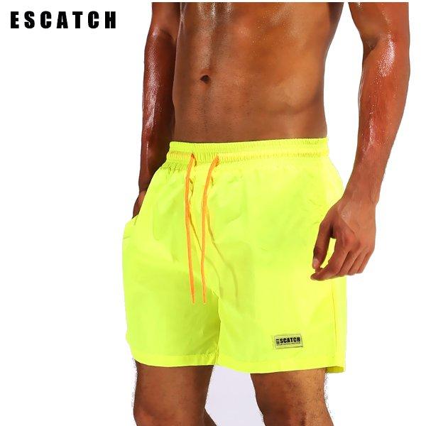 ESCATCH Waterproof Lightweight Casual Beach Board Shorts