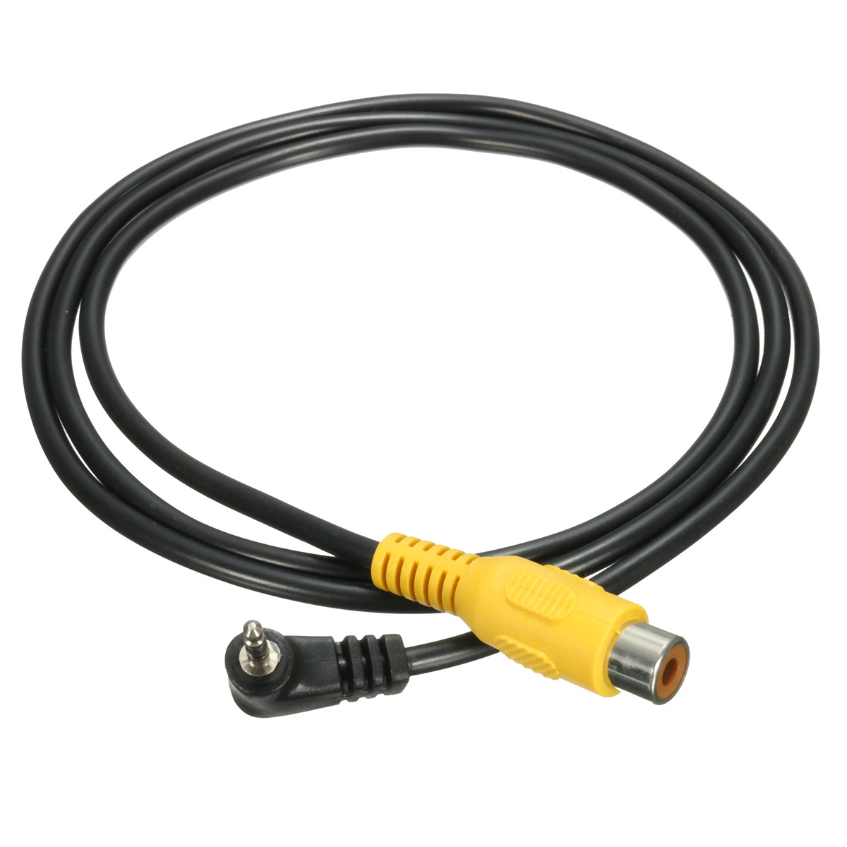 2.5mm Stereo Jack Plug Male to RCA 3.5mm Female Adapter For GPS AV-in Converter Video Cable