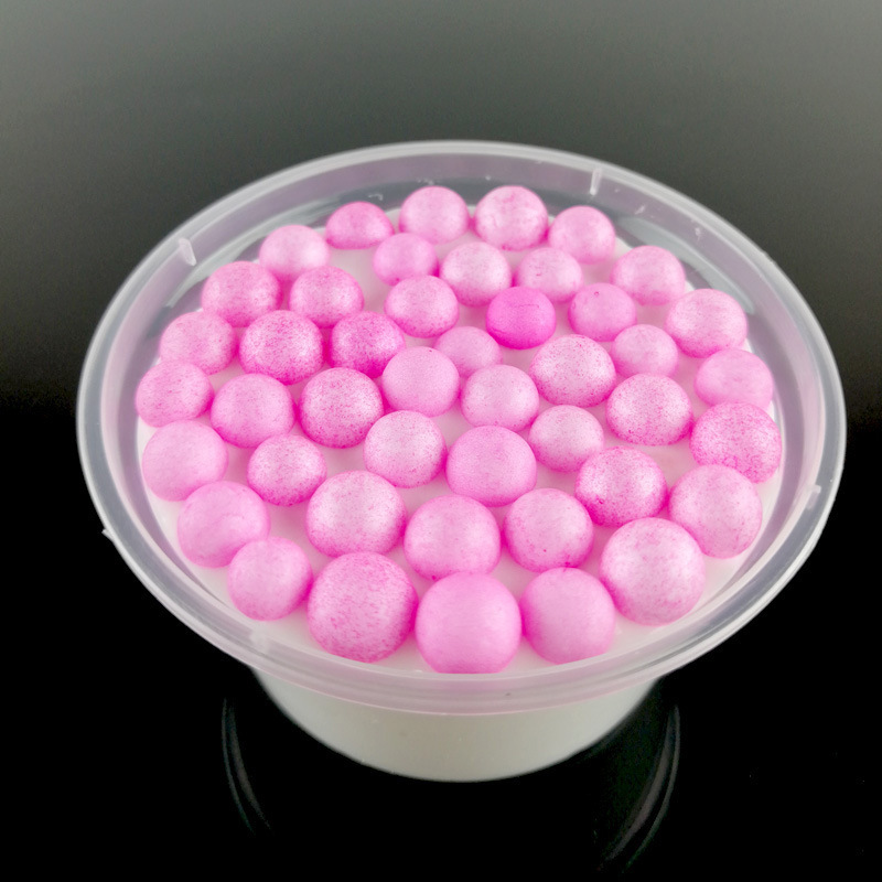 60ml/25g Fluffy Clear Slime Mud Beads Clay Kids Anti Stress Relax Learning DIY Educational Toys