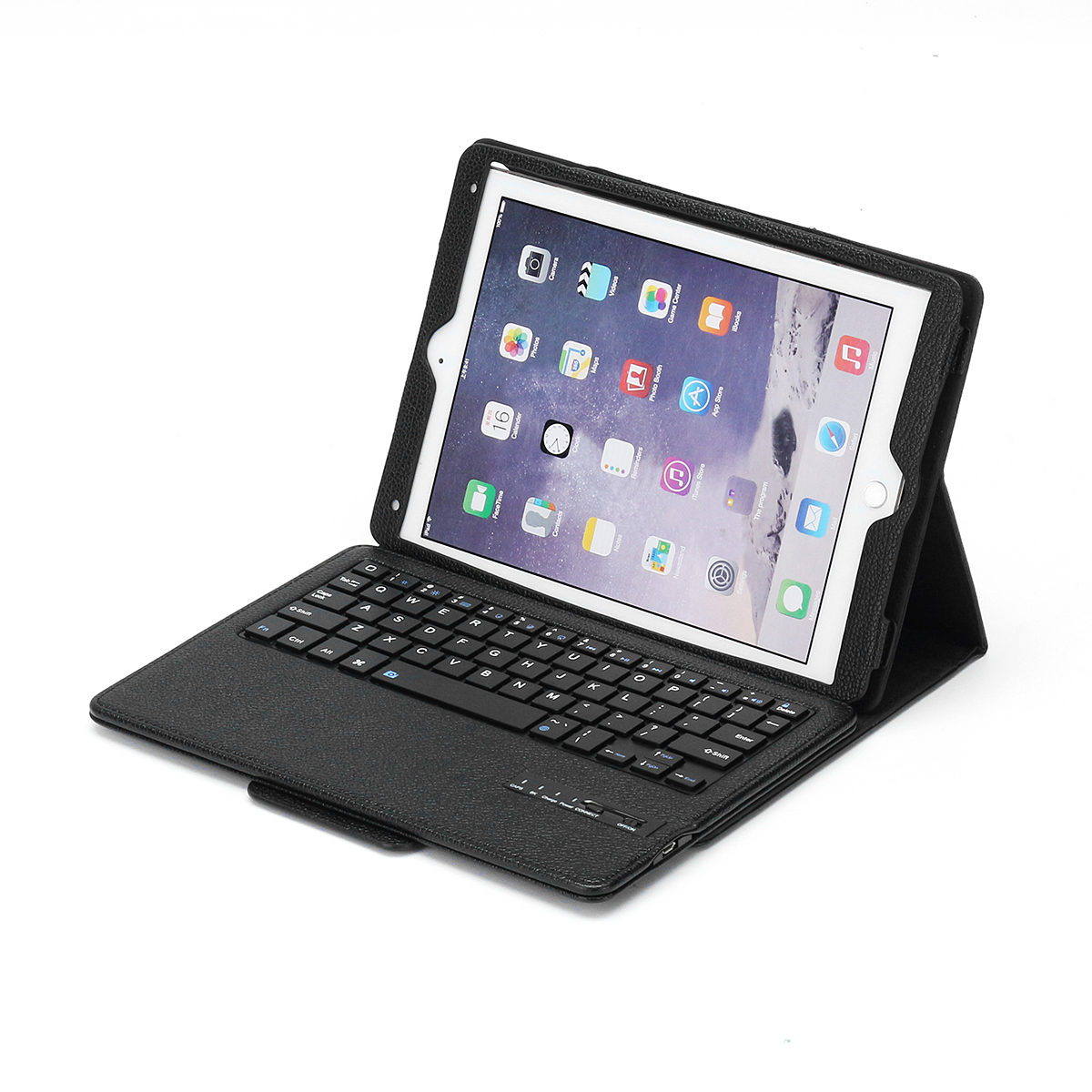Detachable Bluetooth Keyboard Kickstand Tablet Case For