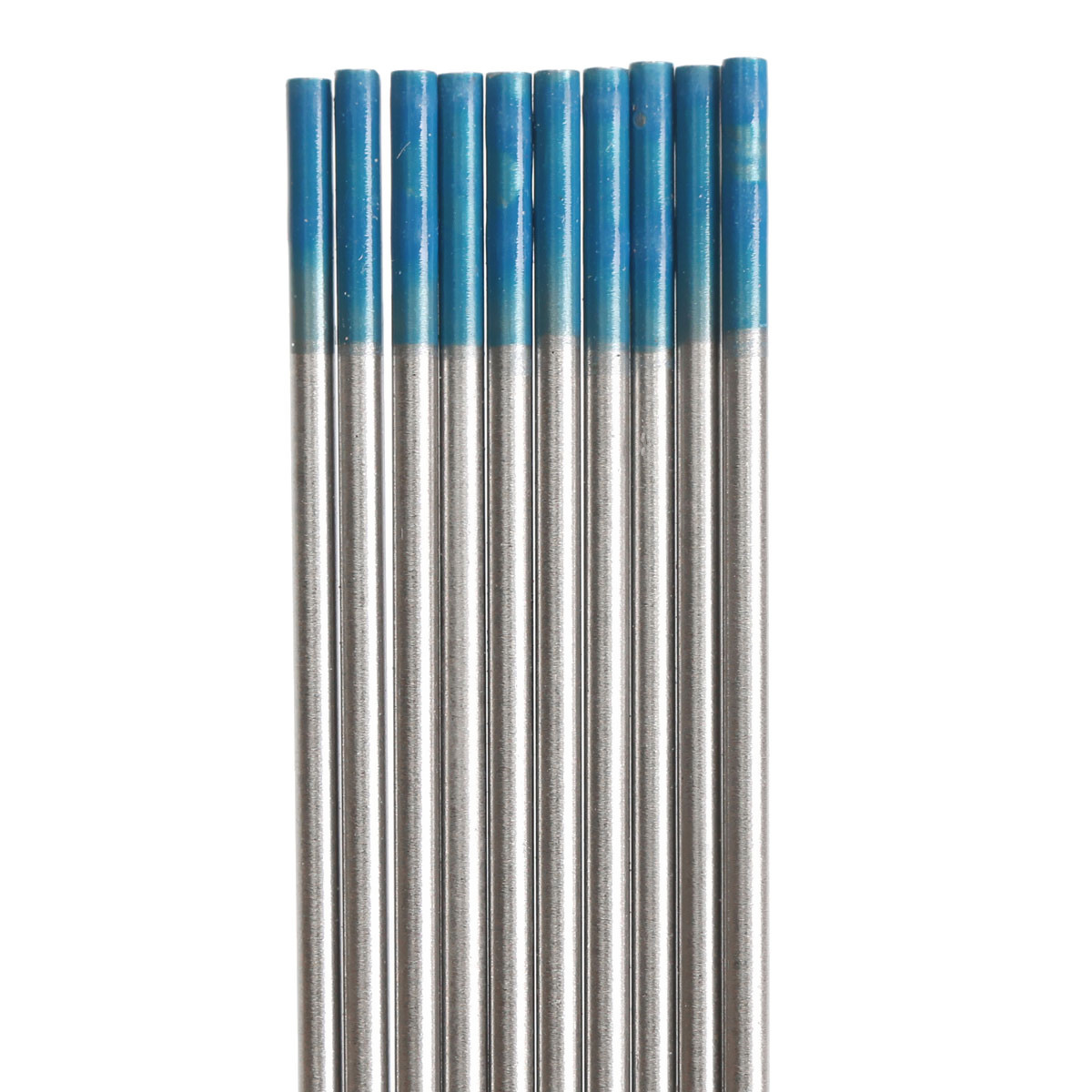 10pcs Tungsten WL20 1/16inch x7inch 2 Percent Lanthanated Blue Tip TIG Electrode 1.6mmx175mm Weld Welding Machine Accessories