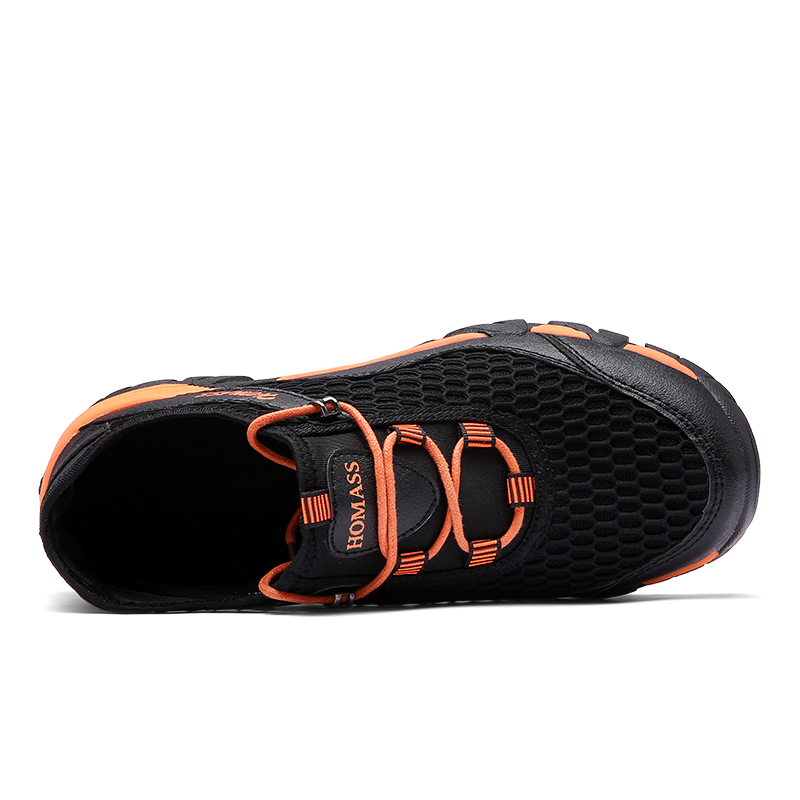 Men Comfy Mesh Wear Resistance Outsole Outdoor Shoes