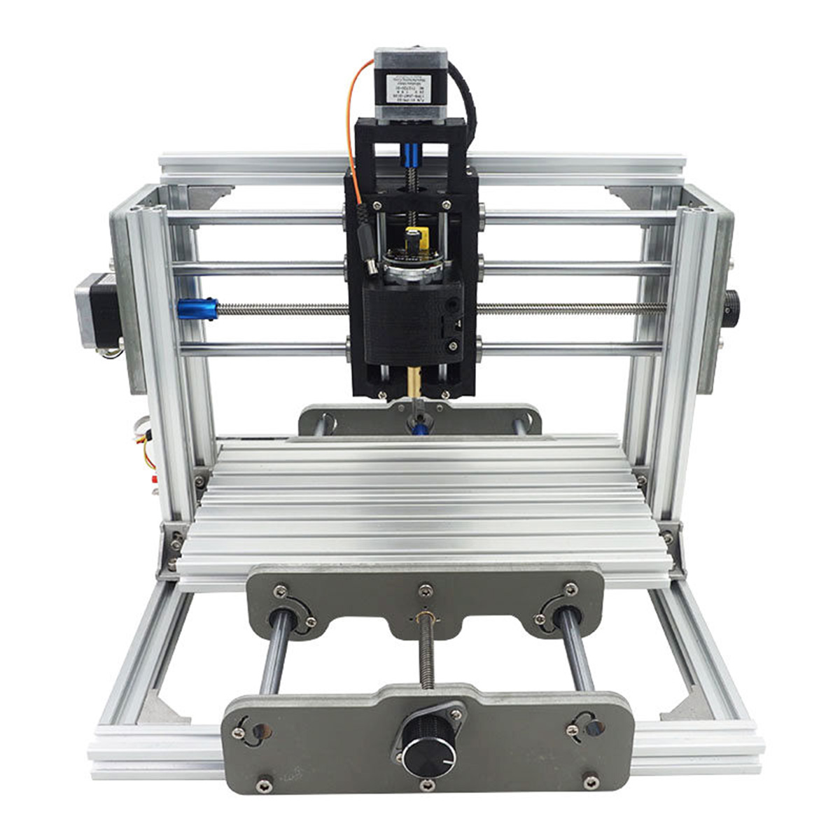 2417 3 Axis Mini DIY CNC Router Wood Craving Milling Engraver Machine with 500mW Laser Module