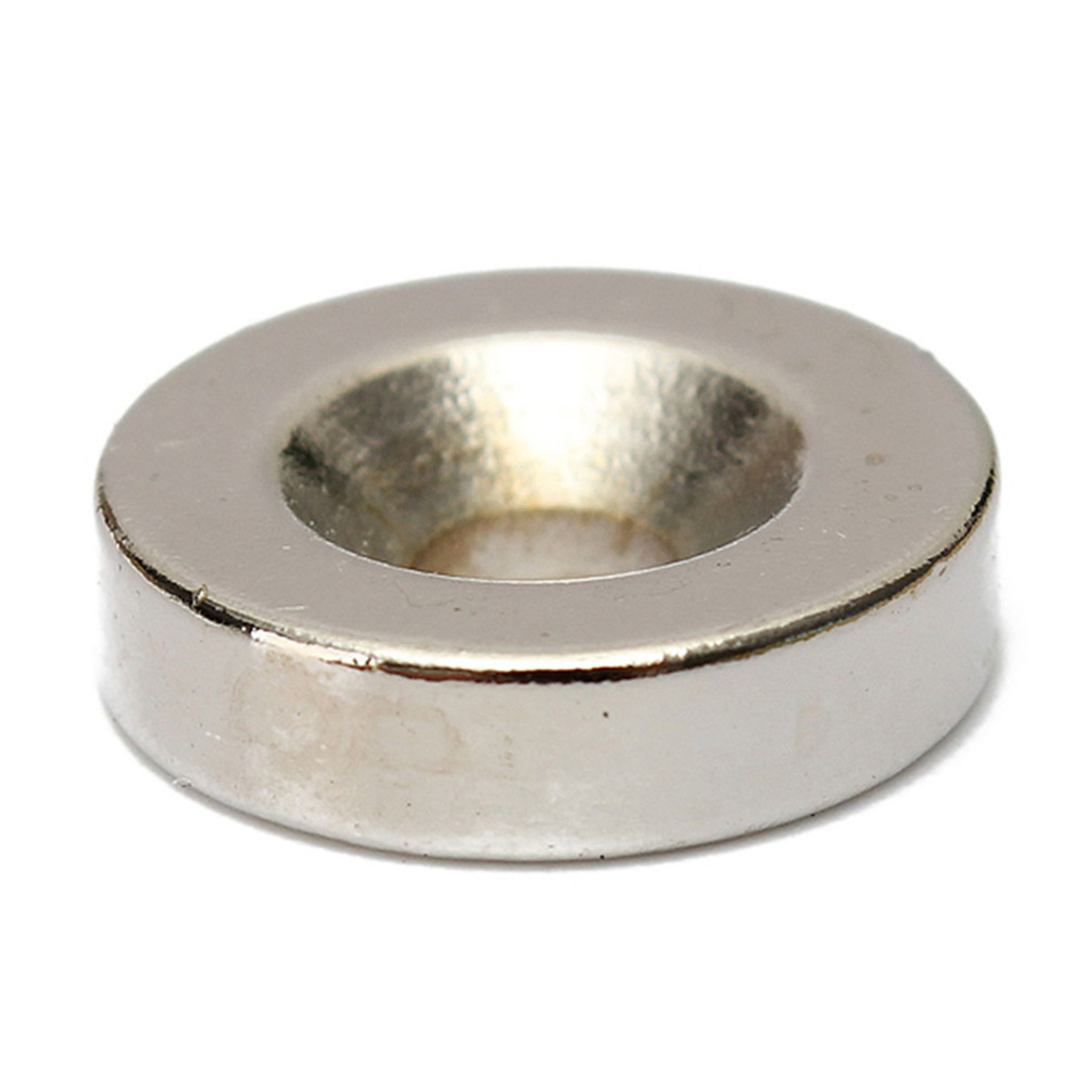 20pcs N50 15x4mm Strong Round Neodymium Magnets 4mm Hole Countersunk Ring Magnet
