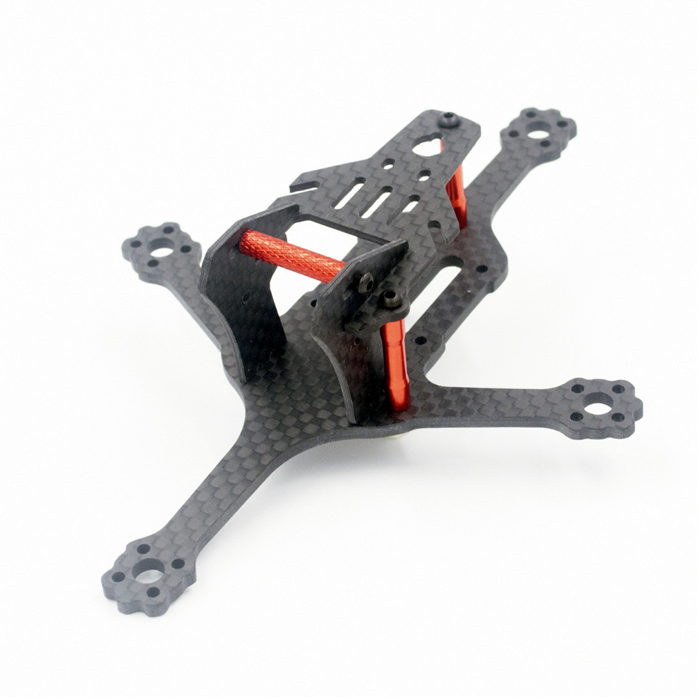 ALFA Falcon 120 2 Inch 120mm/84mm Wheelbase 2.5mm Arm 3K Carbon Fiber Frame Kit for RC Drone