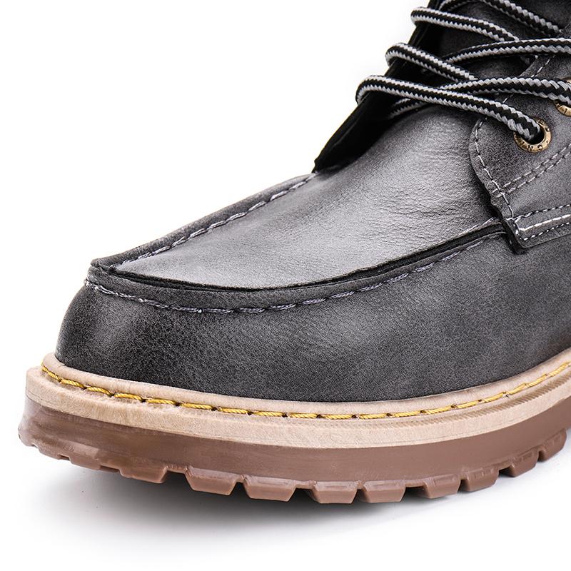 Men Fashion Leather Boots
