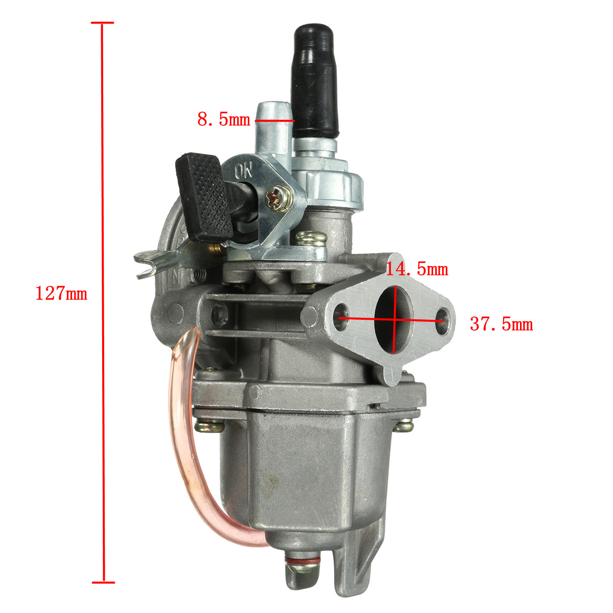 47cc 49cc Carburetor Carb Quad ATV Pocket Bike Petrol Pipe Fuel Filter Mini Moto
