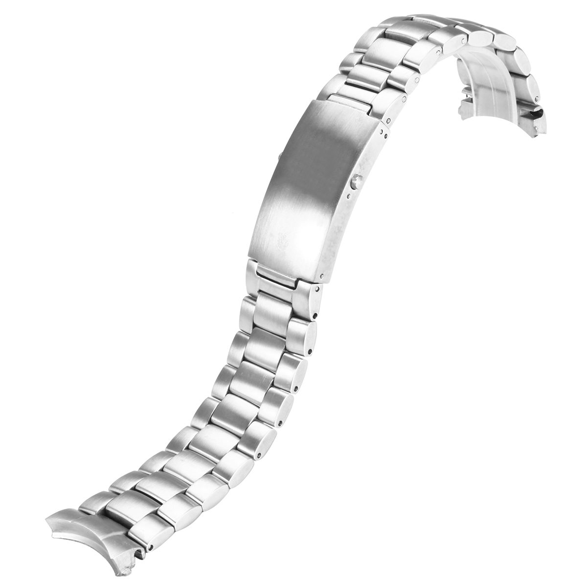 22mm Watch Band Polished Stainess Steel For Omega Seamaster