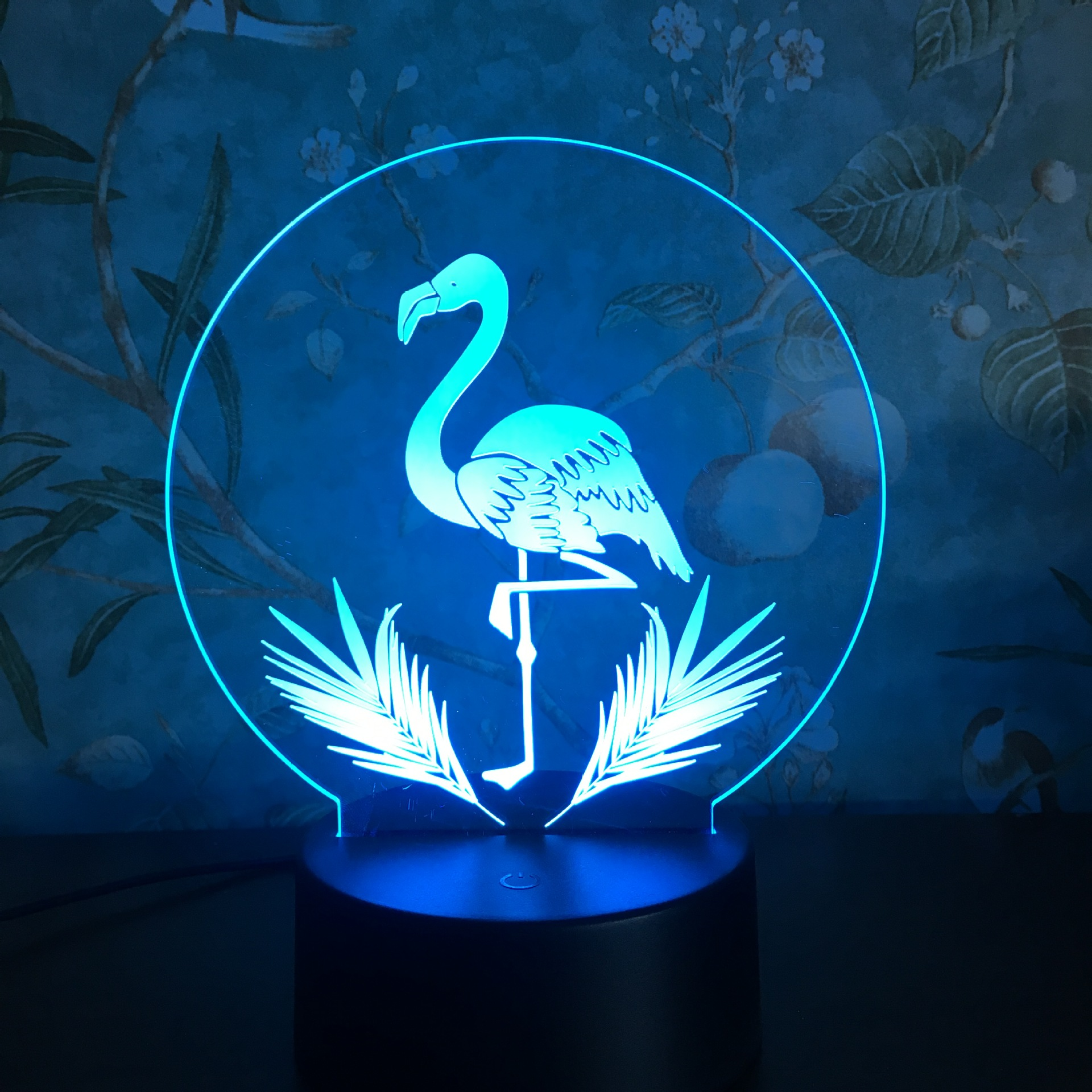 3D Night Light Touch Colorful Flamingo LED Table Lamp Birthday Gift