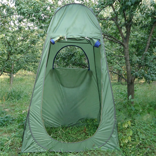 Outdoor Portable Pop UP Changing Tent Bathing Toilet Camping Hiking Sunshade Canopy
