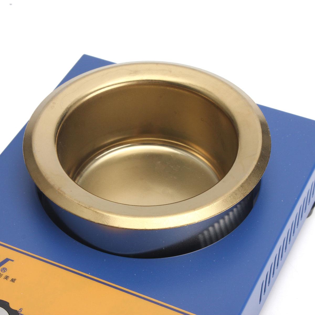 CM380A 220V 250W 80MM Stainless Steel Solder Furnace Melting Soldering Pot