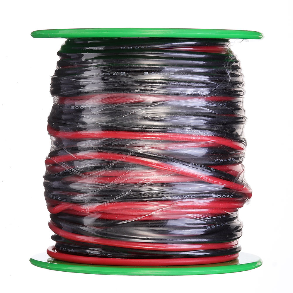 30m 22AWG Soft Silicone Wire Cable High Temperature Tinned Copper Flexible Wire