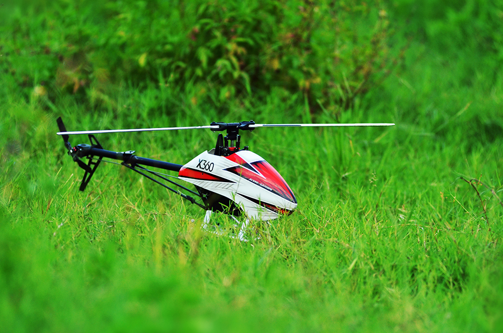 ALZRC X360 FAST FBL 6CH 3D Flying RC Helicopter Kit