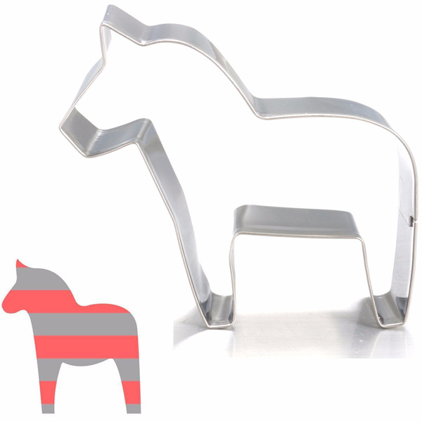 Pony Horse Cake Cookie Cutter Biscuit Chocolate Jelly Fondant Pastry Cake Mold Bake Tools