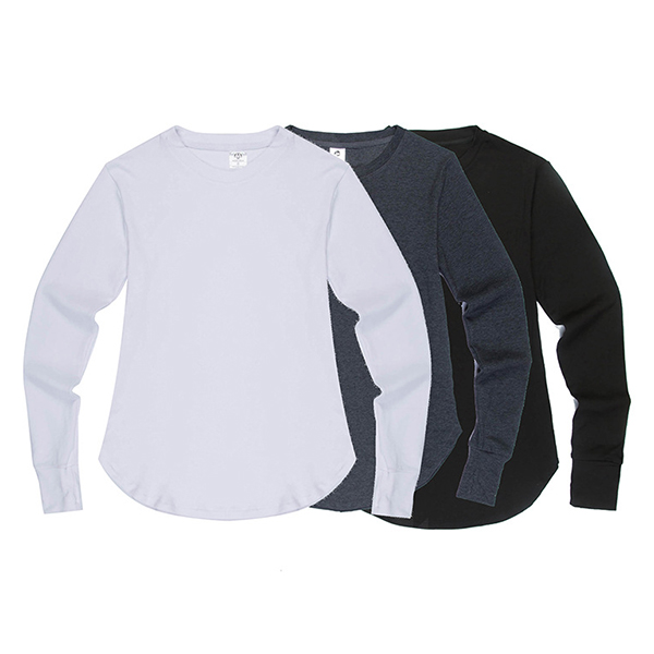Hip-hop Street wears T-shirt Lengthen Gloves Long Sleeve T-shirt Unisex Black White Cotton Tees