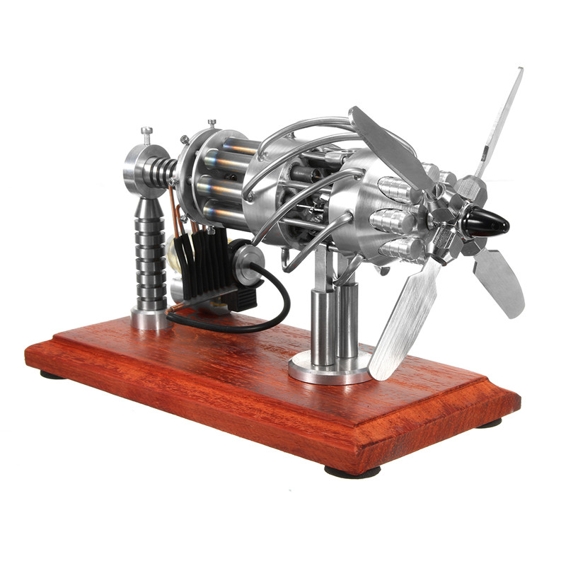 16 Cylinder Hot Air Stirling Engine