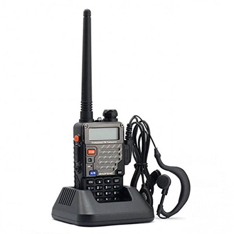 BAOFENG UV-5R 3rd Gen 128 Channesl 400-480MHz Backlight Screen Dual Band Two-Way Walkie Talkie