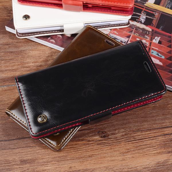 CaseMe Luxury Flip Wallet Stand Leather Cover For Xiaomi Mi5 Xiaomi Mi5 Pro