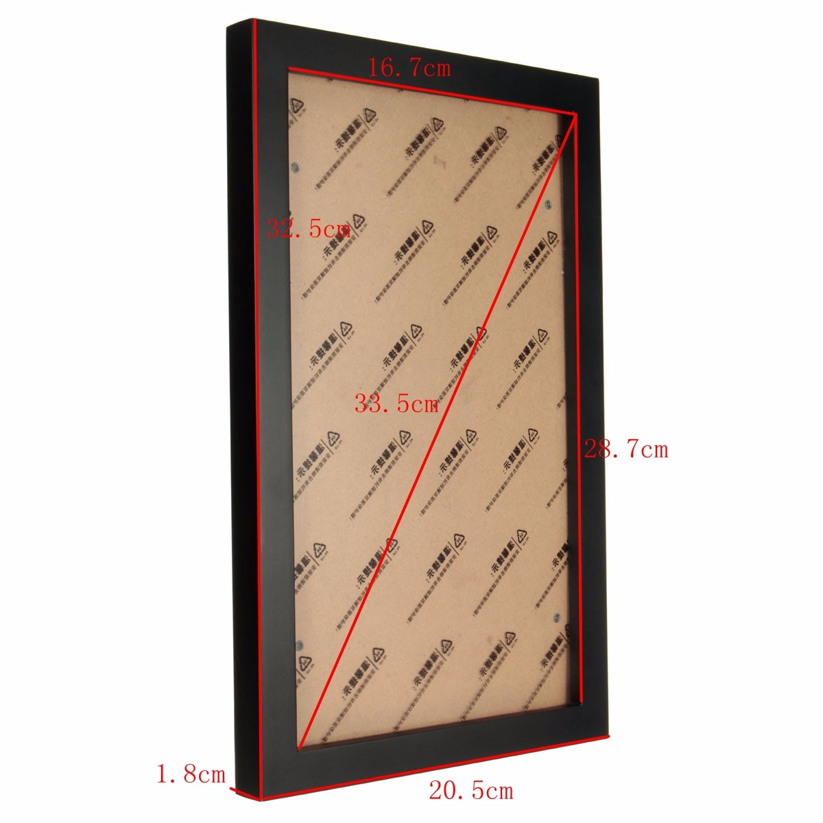12 Inch Hanging Picture Frames Wood Photo Frame Photo Wall Home Wall Decor Pendant Type Frame