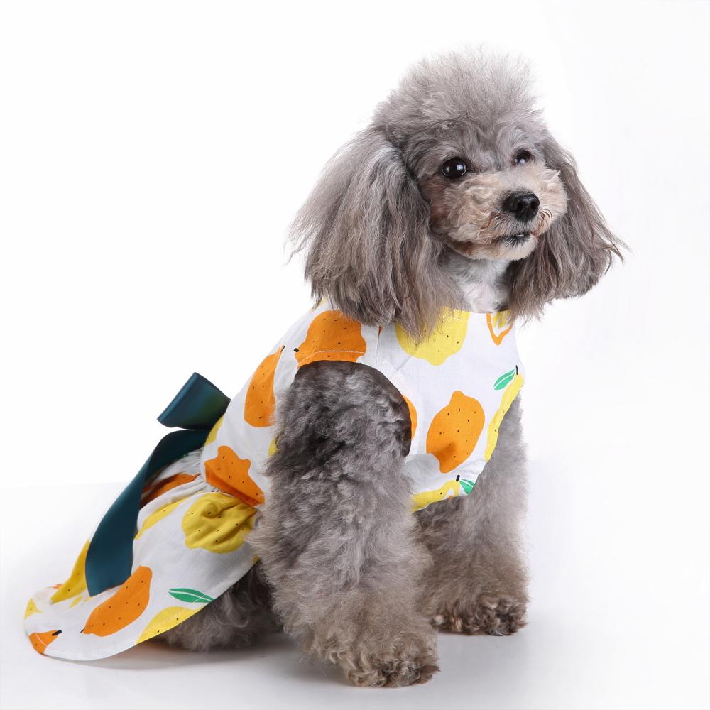 Fashion Pet Dog Dress Clothes Summer Shirts Vest Comfy Apparel