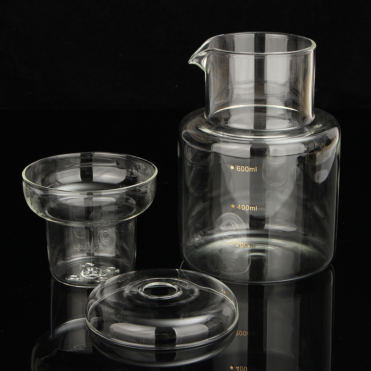 8 Cups Glass Manual Drip Coffee Machine Cold Drip Water Drip Coffee Maker Serve