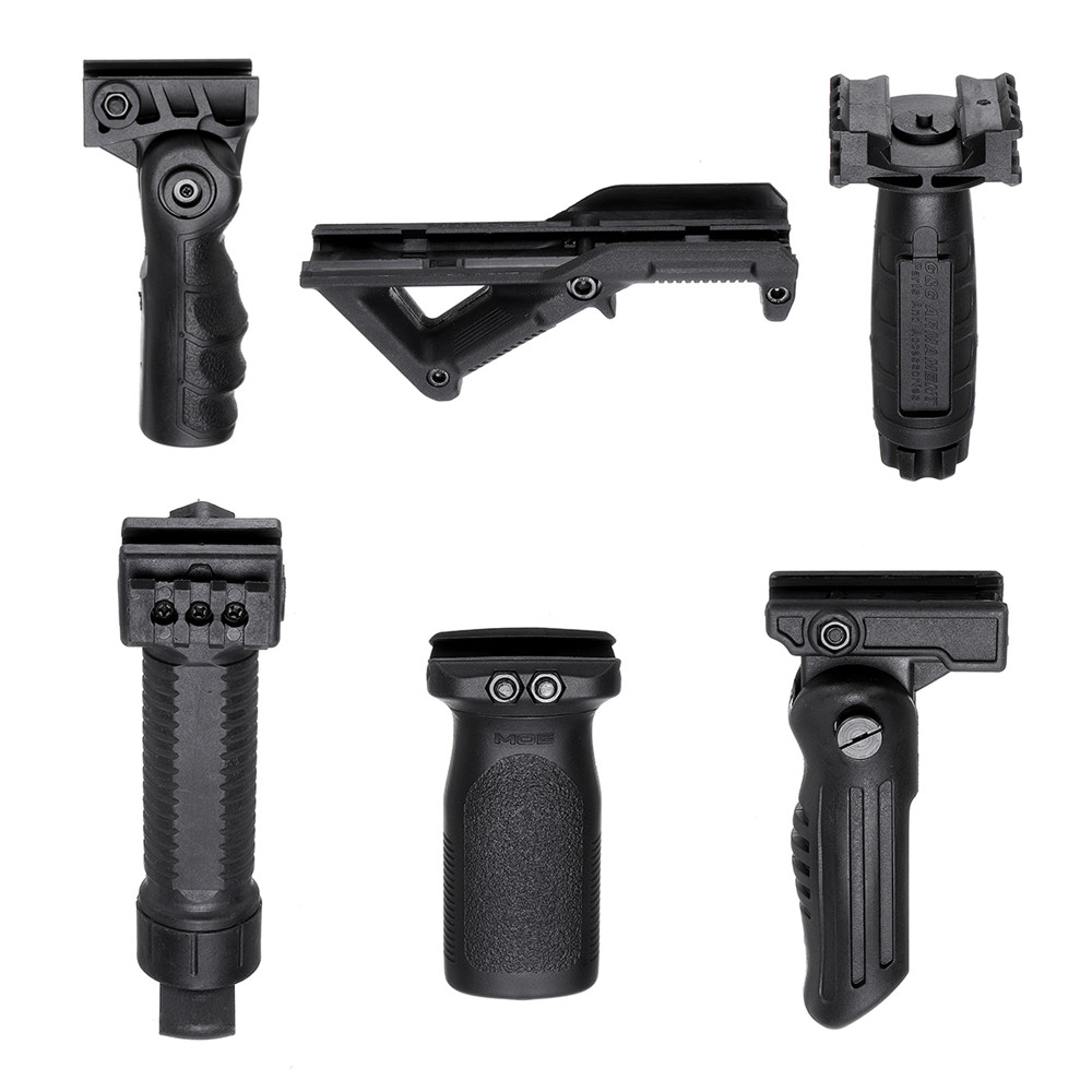 6 Kinds of Tactical Nylon Handle Grip For Gel Ball JinMing Gen8 M4A1 Toys