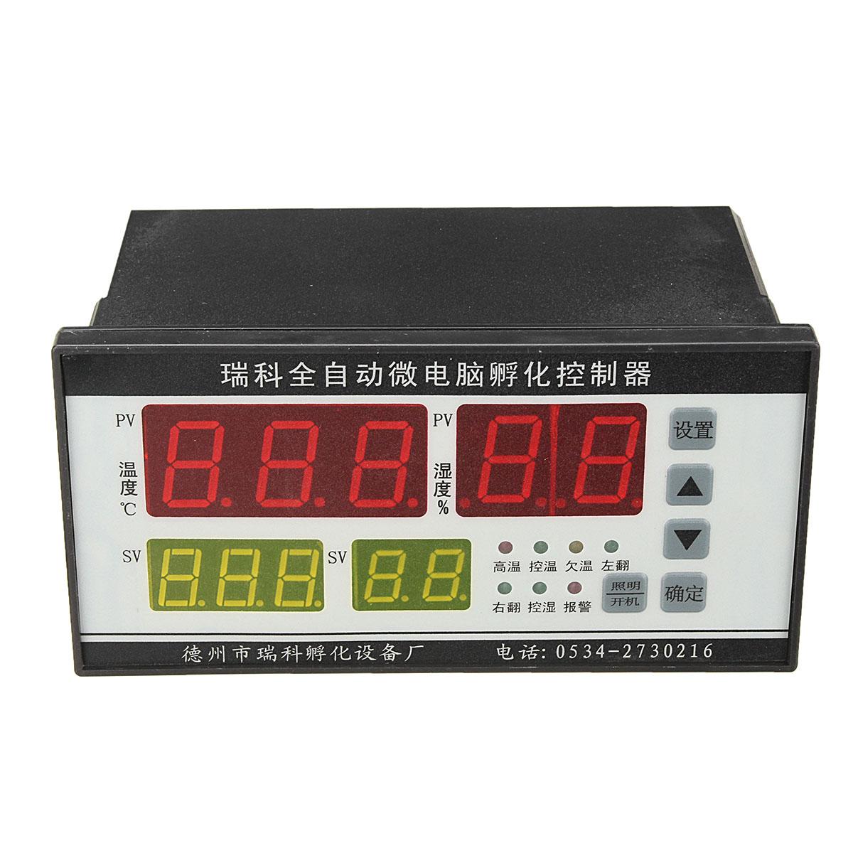 Digital Automatic Computer Incubator Controller Temperature Humidity Controller Industrial Incubator